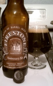 Firestone Walker 14th Anniversary Ale