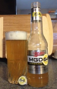 Miller Brewing Company MGD Light 64 Lemonade