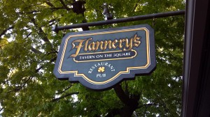 Flannery's Tavern on the Square in Mercersburg, PA
