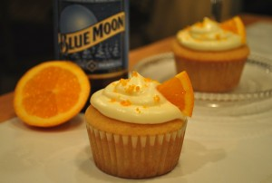 Guest Post: Blue Moon Beer Cupcakes