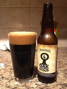 Dominion Oak Barrel Stout
