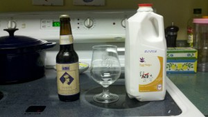 beer-nog ingredients