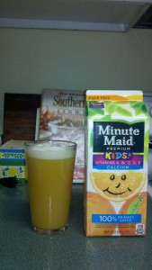 Beer and oj mix