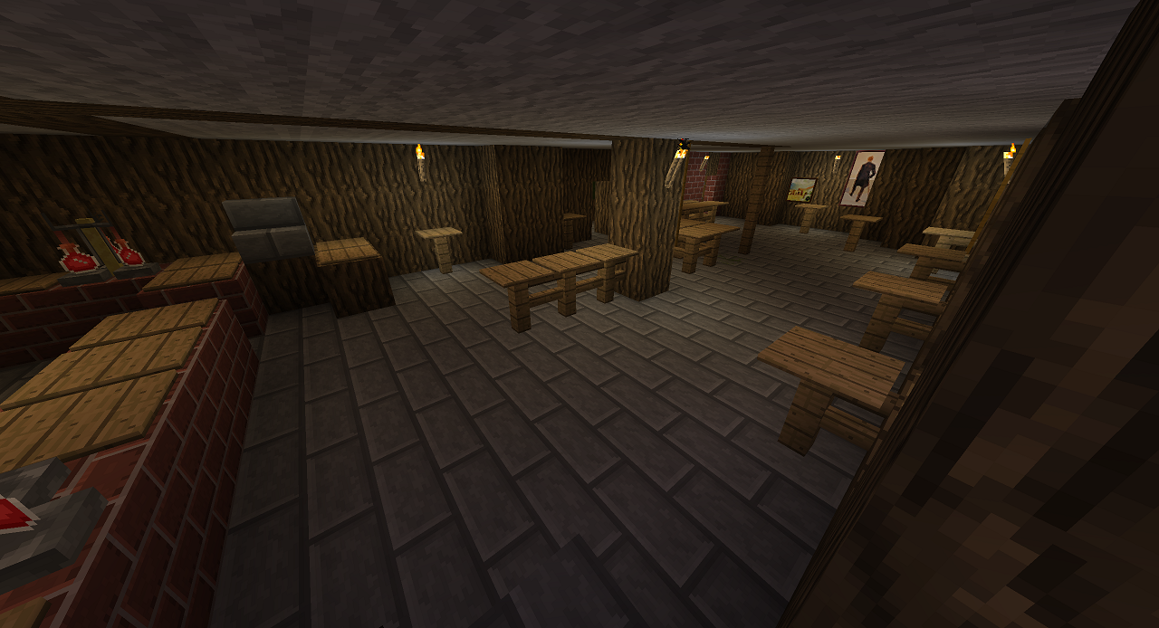 Our Favorite Bar In Blocks Recreating Zenos Pub