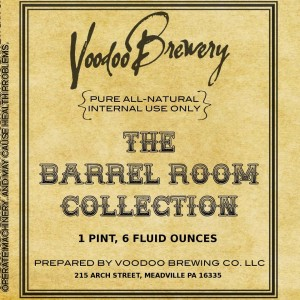 Voodoo Brewery Barrel Room Collection Release This Weekend!