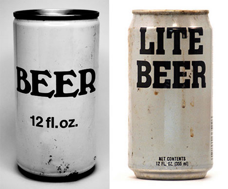 The most generic beer cans imaginable (via rustycans.com)