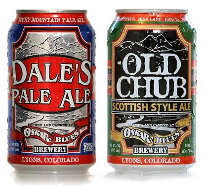 Oskar Blues Cans. More of these, please!
