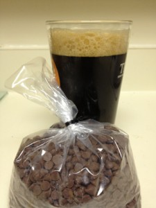 The final result: Three Headed Dog Stout